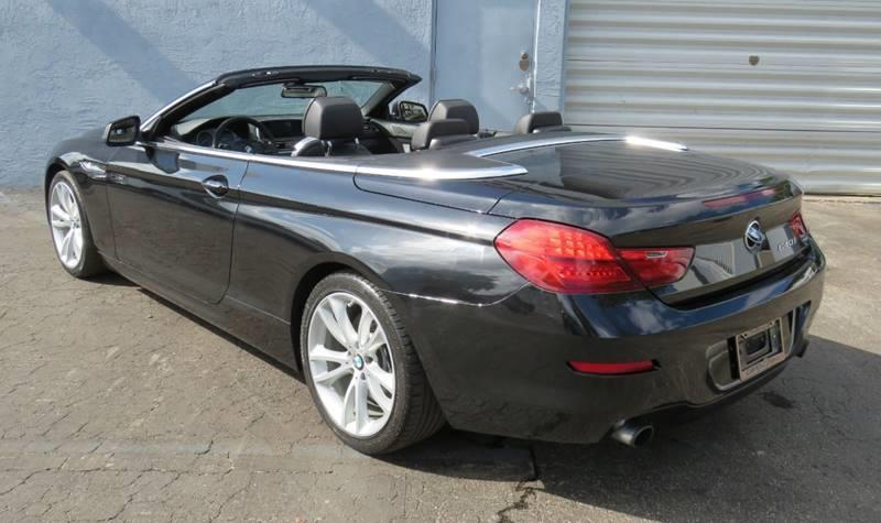 Pre-Owned 2012 BMW 6 Series 640i 2dr Convertible