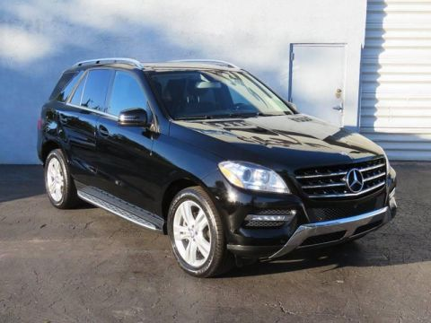2015 Mercedes-Benz M-Class ML 350 4dr SUV Rear Wheel Drive SUV