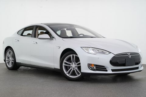 2014 Tesla Model S P85 Rear Wheel Drive Sedan