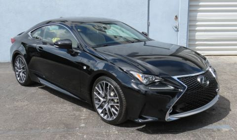 Pre-Owned 2016 Lexus RC 350 F Sport