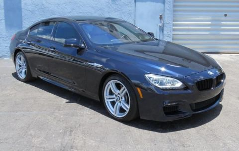 2014 BMW 6 Series 640i Gran Coupe 4dr Sedan With Navigation