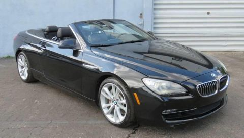 2012 BMW 6 Series 640i 2dr Convertible Rear Wheel Drive Convertible
