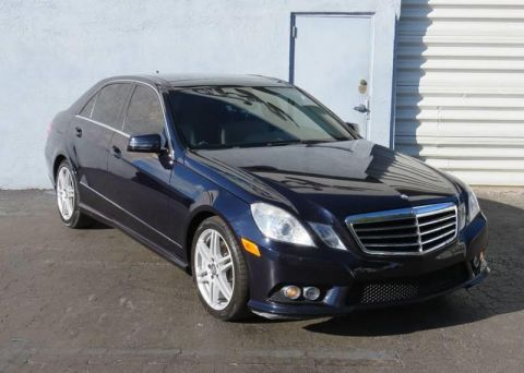 2010 Mercedes-Benz E-Class E 350 Sport 4dr Sedan Rear Wheel Drive Sedan