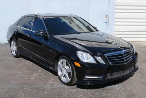 2012 Mercedes-Benz E-Class E 350 Sport 4dr Sedan Rear Wheel Drive Sedan