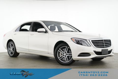 2016 Mercedes-Benz S-Class S 550 Rear Wheel Drive 4dr Car